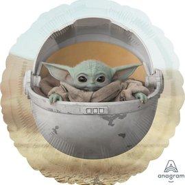 "Star Wars Mandalorian Child Foil Balloon, 18"""