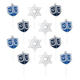 Hanukkah Party Picks, 36 ct