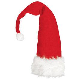 Long Santa Red Hat