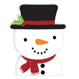 """Mini Standing Snowman, 5 7/8"""" H x 4 5/8"""" W"""