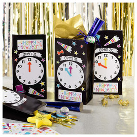 New Year's Eve Countdown To Midnight Bag Kit, 12 ct