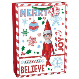 """The Elf On The Shelf® Extra Large Vertical Gift Bag, 18""""H x 5""""W x 13""""D"""