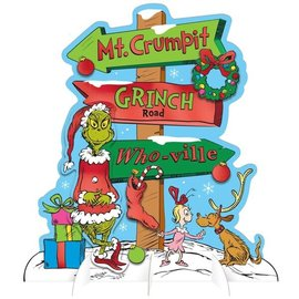 Traditional Grinch Whoville Table Decoration