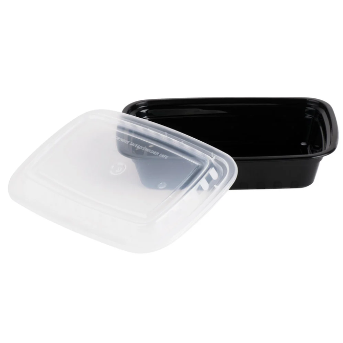 20ct. Microwavable Takeout Container and Lid