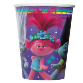 Trolls 9oz Paper Cups, 8ct