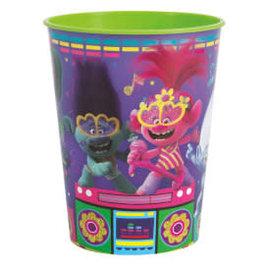 Trolls 16oz Plastic Favor Cup