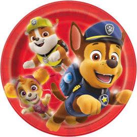 "Paw Patrol Round 7"" Dessert Plates, 8ct"