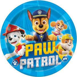 "Paw Patrol Round 9"" Dinner Plates, 8ct"