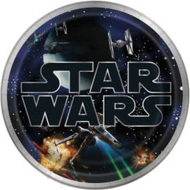 "Star Wars Classic Round 9"" Dinner Plates, 8ct"