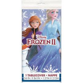 "Disney Frozen 2 Rectangular Plastic Table Cover, 54""x84"""