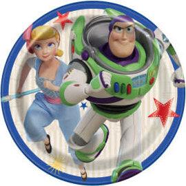 "Disney Toy Story 4 Round 7"" Dessert Plates, 8ct"