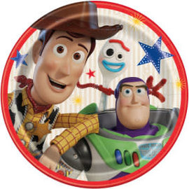 "Disney Toy Story 4 Round 9"" Dinner Plates, 8ct"
