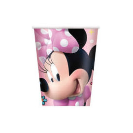 Disney Iconic Minnie Mouse 9oz Paper Cups, 8ct