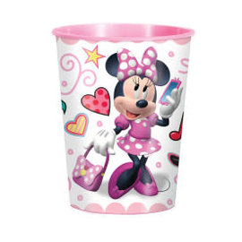 Disney Iconic Minnie Mouse 16oz Plastic Favor Cup