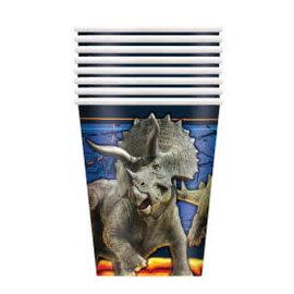 Jurassic World 2 9oz Paper Cups, 8ct