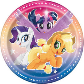 "My Little Pony Round 7"" Dessert Plates, 8ct"