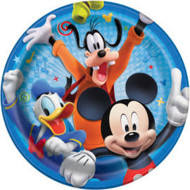 "Disney Mickey Roadster Round 9"" Dinner Plates, 8ct"