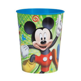 Disney Mickey Roadster 16oz Plastic Favor Cup
