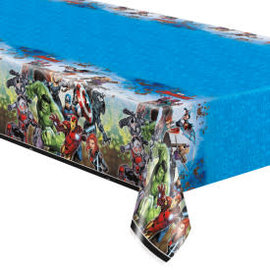 "Avengers Rectangular Plastic Table Cover, 54""x84"""