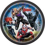 "Avengers Round 7"" Dessert Plates, 8ct"