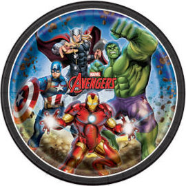 "Avengers Round 9"" Dinner Plates, 8ct"
