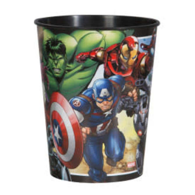Avengers 16oz Plastic Favor Cup
