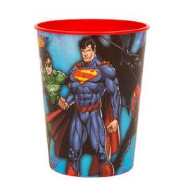 Justice League 16oz Plastic Favor Cup