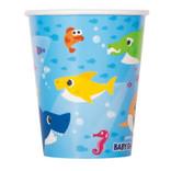 Baby Shark 9oz Paper Cups, 8ct