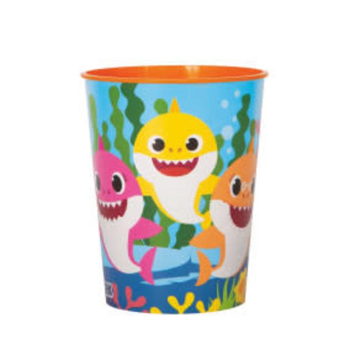 Baby Shark 16oz Plastic Favor Cup