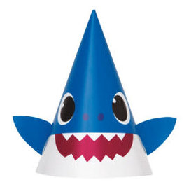 Baby Shark Party Hats, 8ct