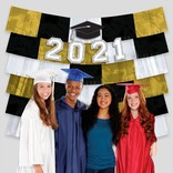 2021 Grad Fringe Deco Backdrop with Cutouts