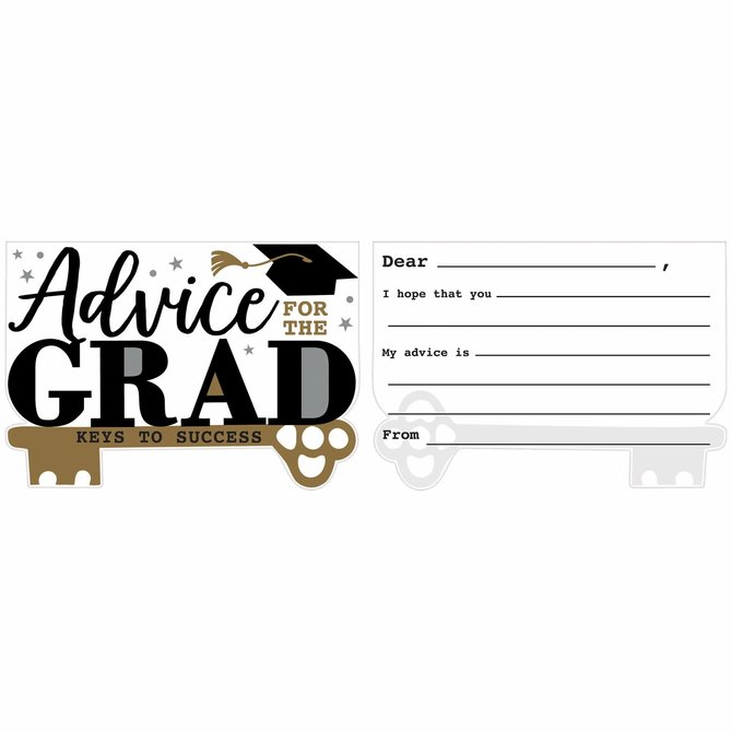 Advice Cards For The Grad