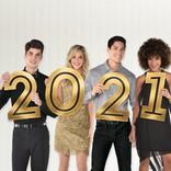 """2021"" Cutout Photo Prop"