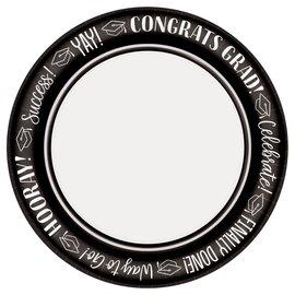 "Celebrate Success Round Plates, 8 1/2"""
