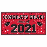 2021 Grad Large Horizontal Banner-Red