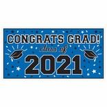 2021 Grad Large Horizontal Banner-Blue