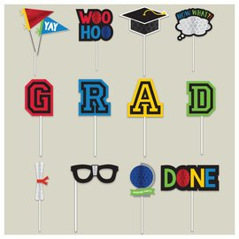Grad Honeycomb Photo Props Kit