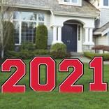 2021 Giant Yard Stake -Red