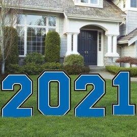 2021 Giant Yard Stake -Blue