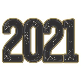 2021 Jumbo Confetti Photo Prop