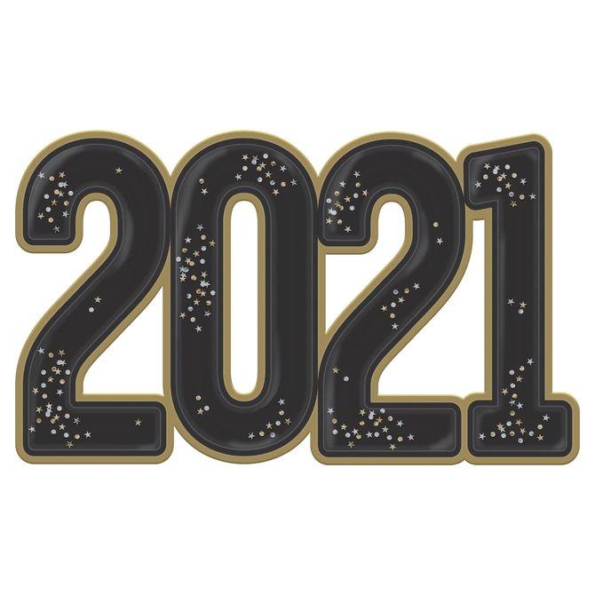 2021 Jumbo Confetti Photo Prop