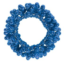 Blue Drop Bead Bracelet