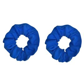 Blue Scrunchies -2ct