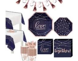 Navy & Blush Wedding