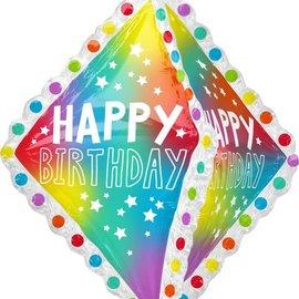 "Happy Birthday Ruffle -27"""
