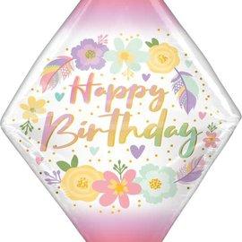 """Birthday Boho Gem Anglez -25"""""""