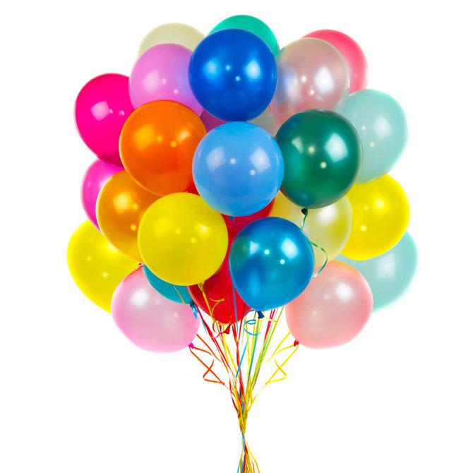 "24 Helium filled 12"" Latex"