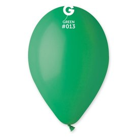 "Green 12"" Latex Balloons, 50ct"