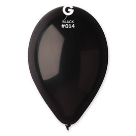 "Black 12"" Latex Balloons, 50ct"