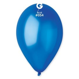 "Metallic Navy 12"" Latex Balloons, 50ct"